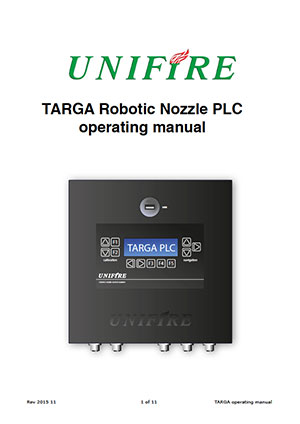 Unifire-TARGA-Manual-Cover
